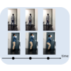 Temporal Distance Matrices for Squat Classification