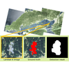 Detection by Classification of Buildings in Multispectral Satellite Imagery