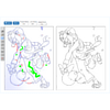 Real-Time Data-Driven Interactive Rough Sketch Inking